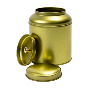Theeblik rond 100 gram goud