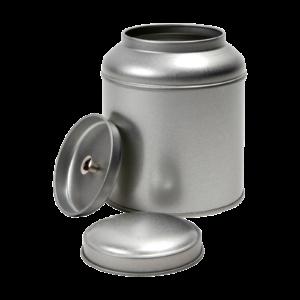 Theeblik rond 100 gram zilver