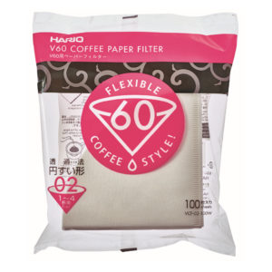 Hario V60 filterpapier maat 02 (100 stuks)
